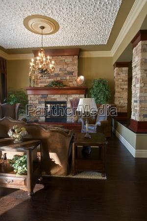interior aus einem wohnzimmer
