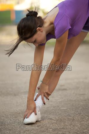 elongation after running