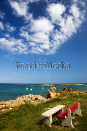 beach of pleubian