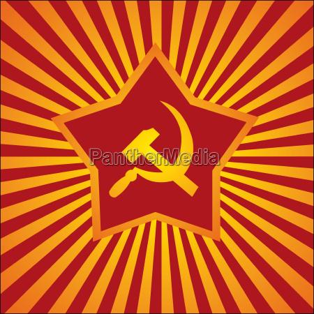 komunistischer hintergrund