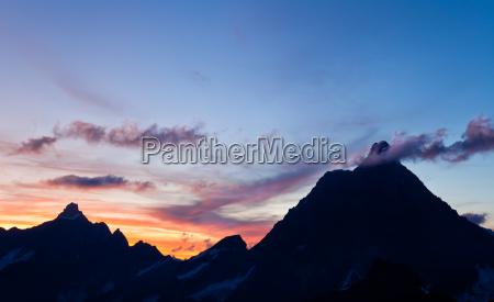 matterhorn at sunset