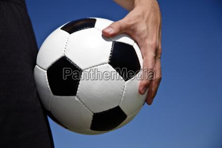 halten sie den ball