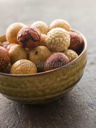 schale erdnuss rice cracker