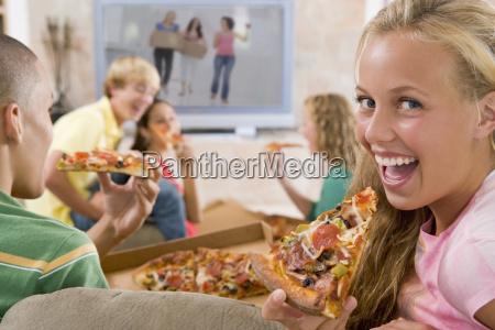 hängen, teenager, vor, out, of, television, die - 2310379