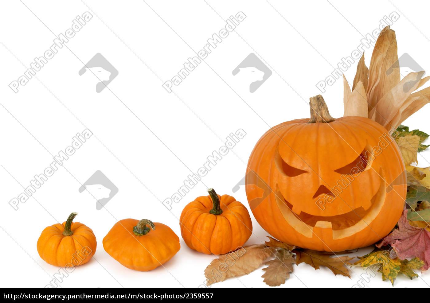 Hintergrund Mit Halloween Kurbis Stockfoto 2359557