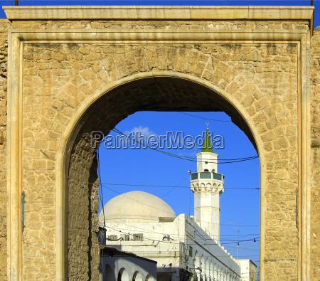 moschee am eingangstor in die altstadt