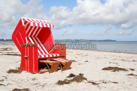 on the beach on ruegen