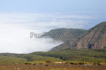 landscape in tenerife spain