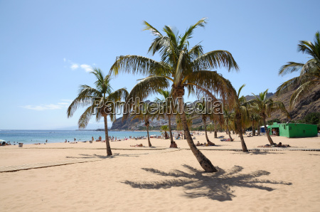 playa de las teresitas teneriffa spanien