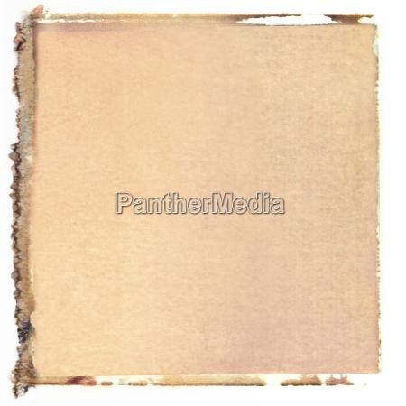 quadratischer polaroid transfer