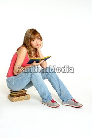 erschoepfter leser