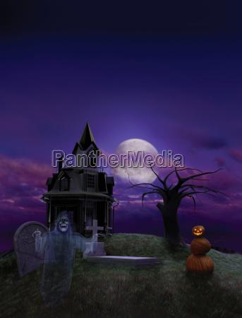 halloween flier background