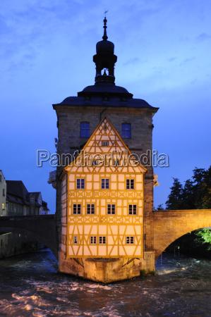 bamberg altstadt altes rathaus