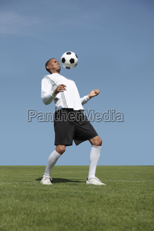 soccer player training