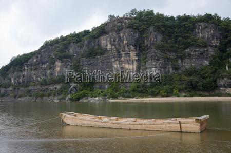 small boat south korea