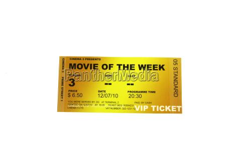 ticket fuer cinema