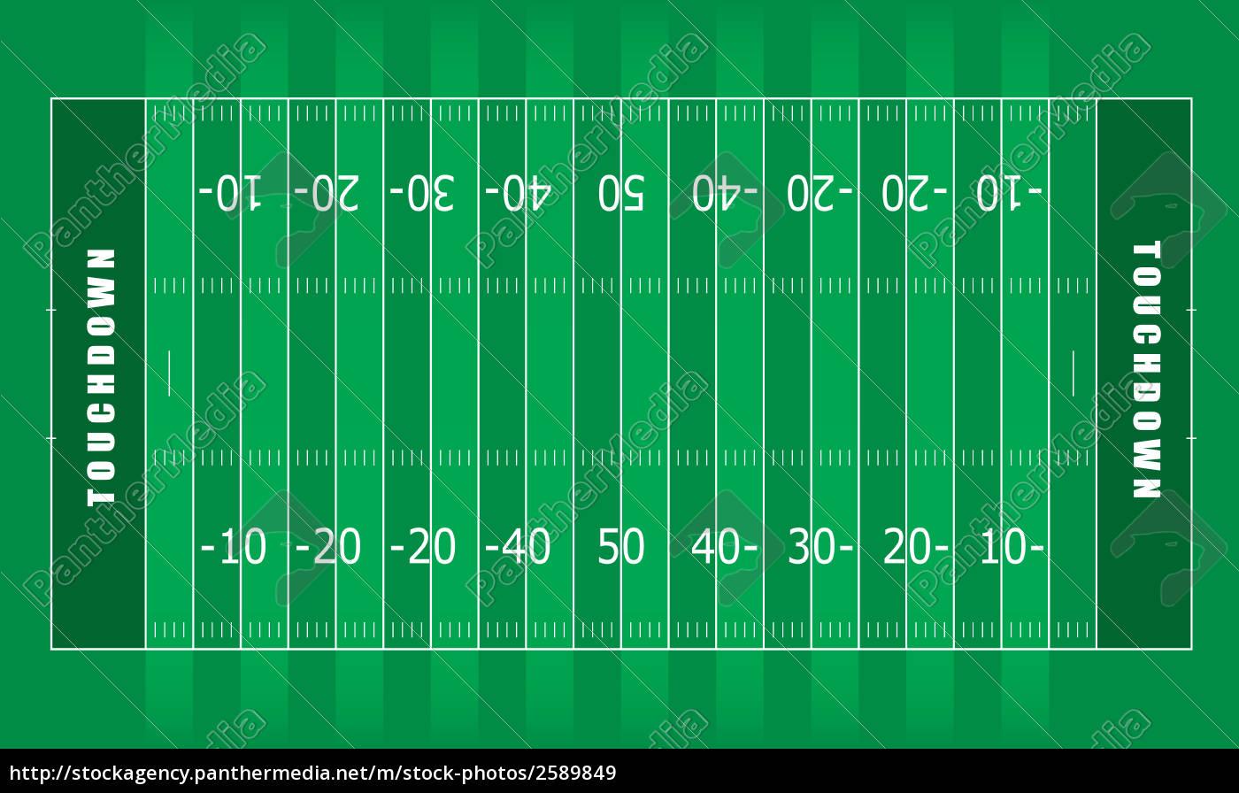 American Football Spielfeld
