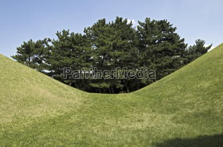 tumuli park south korea