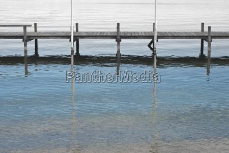 dock on lake starnberger
