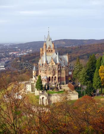 drachenburg in deutschland