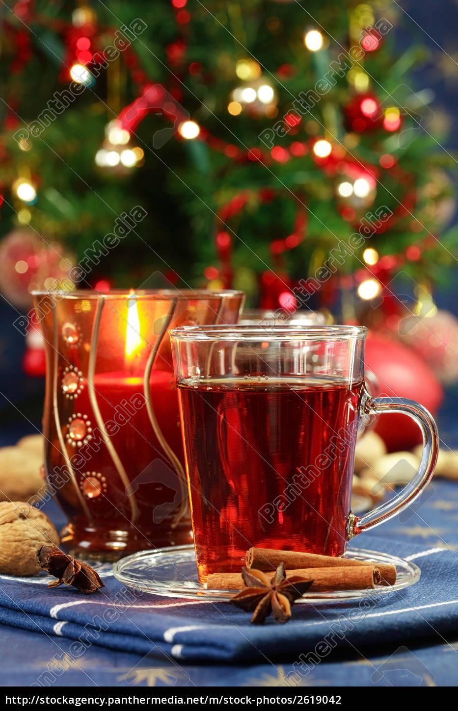 heißes getränk für weihnachten - Stockfoto - #2619042 - Bildagentur ...