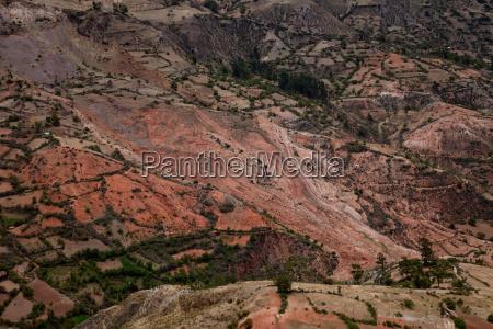 landslide in andes
