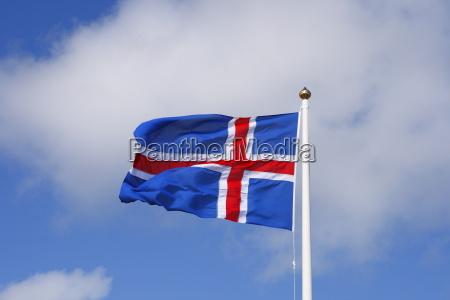 nationalflagge island