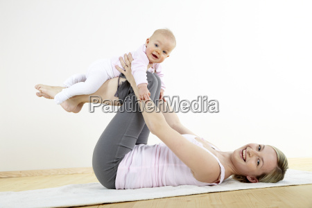 mama und baby turnen