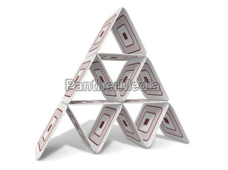 bierdeckel pyramide