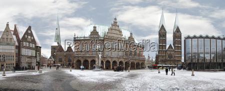 panorama, bremen - 2743540