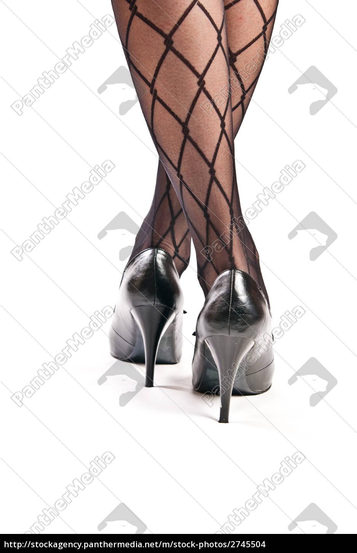weibliche beine in strumpfhosen und schuhe auf high lizenzfreies foto 2745504 bildagentur. Black Bedroom Furniture Sets. Home Design Ideas