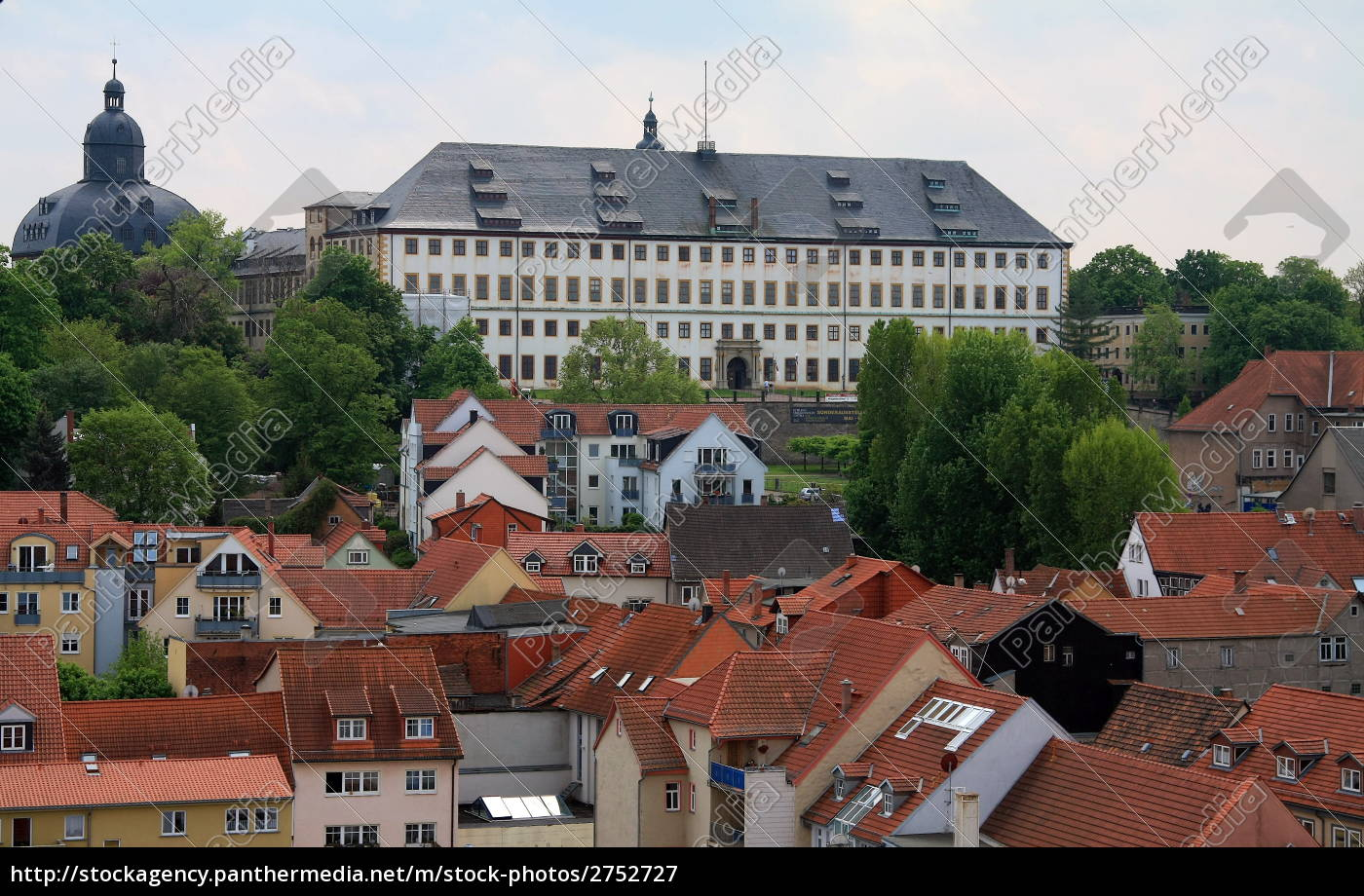 gotha, altstadt, und, schloss, friedenstein - 2752727