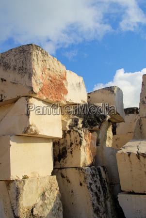 marmor steinbruch marble stone pit