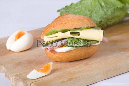 cheese ham