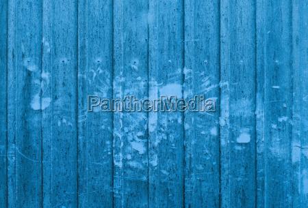blaue containerwand