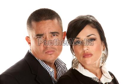 hispanic couple