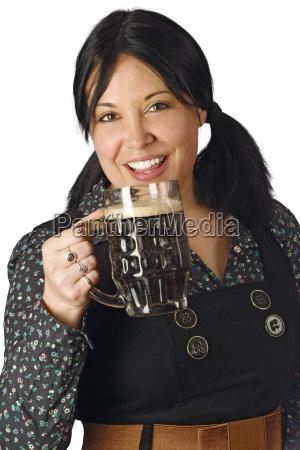 drinking stout on st patricks day