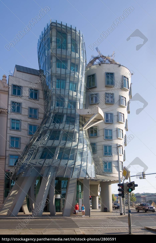 Tanzendes Haus Prag Lizenzfreies Bild
