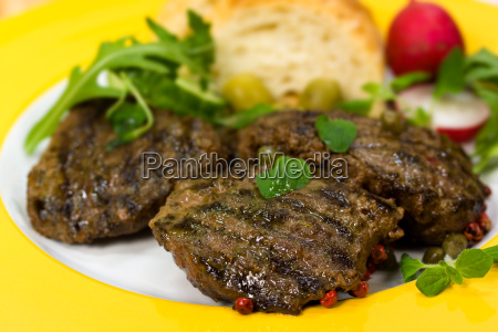 lamm medaillons steak mit