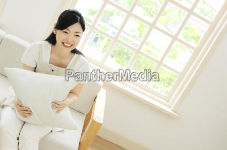 smileing woman