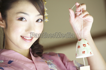 japanese old woman wearing kimono and