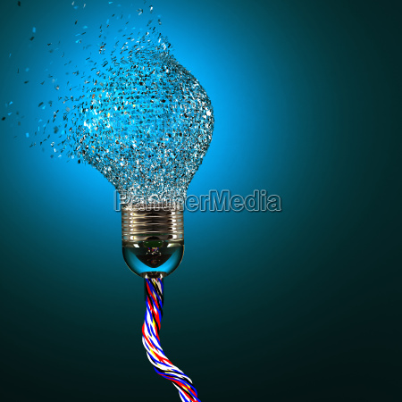 electric bulb explosion