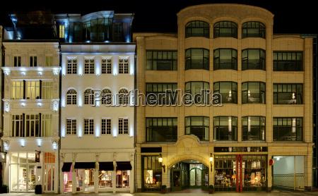 renovierte cityfassaden