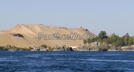 am nil bei assuan in AEgypten