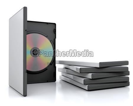 objekt gegenstand scheibe packung dvd cd
