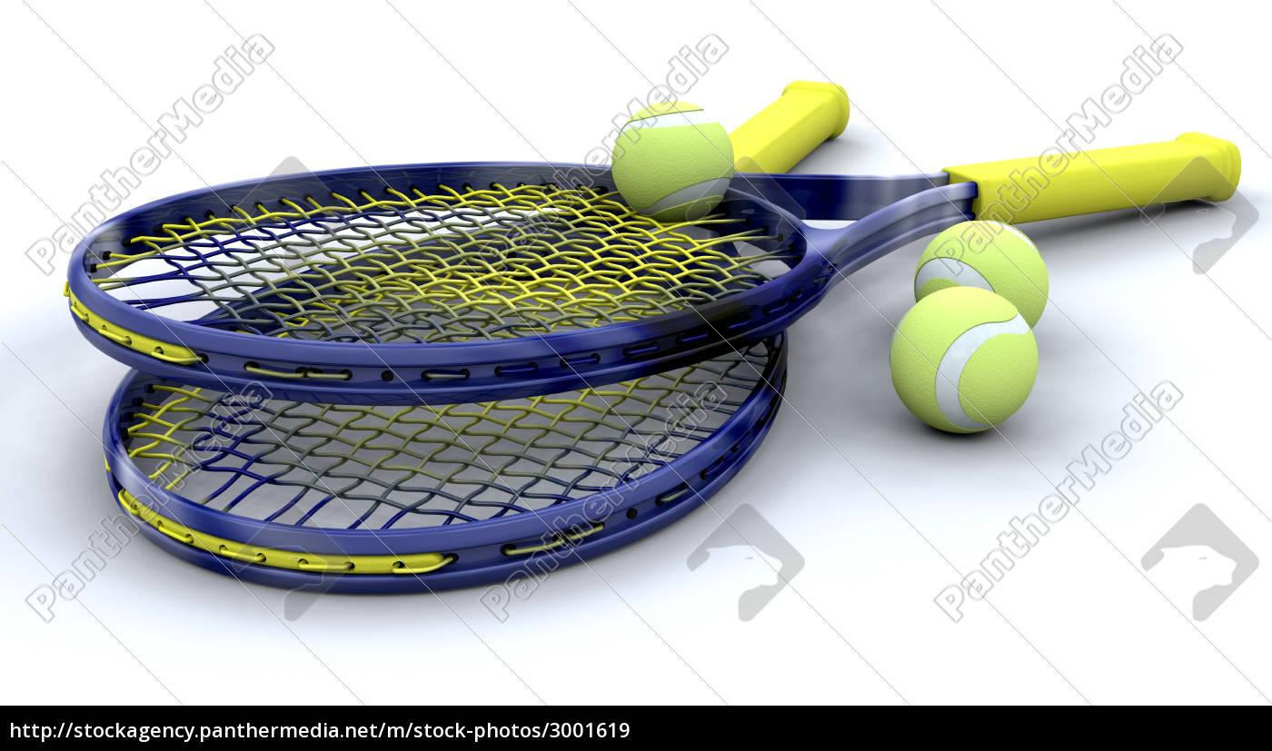 wholesale dealer 46753 ec517 Lizenzfreies Bild 3001619 - 3d tennis ausrüstung
