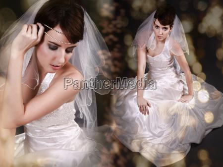 sparkling bride