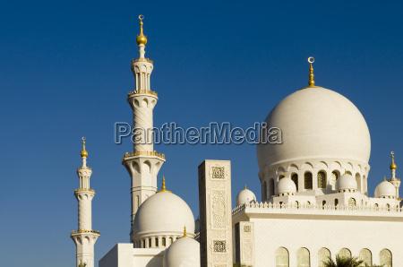 moschee abu dhabi vae