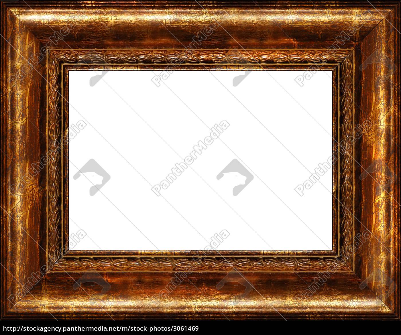 antike bilderrahmen isoliert - Lizenzfreies Bild - #3061469 ...