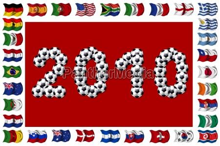 fussball 2010 teilnehmende nationen